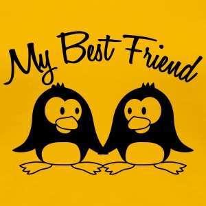 My Best Friend 2 Pinguine T-Shirts - Frauen Premium T-Shirt