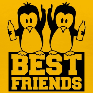 Best Friends Pinguine Saufen Party Feiern T-Shirts - Frauen Premium T-Shirt