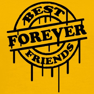 Best Friends Forever Stempel Graffiti T-Shirts - Men's Premium T-Shirt