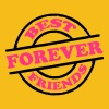 Best Friends Forever Stempel T-Shirts - Men's Premium T-Shirt
