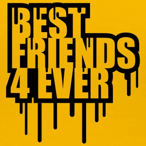 Best Friends 4 Ever Graffiti Stempel T-Shirts - Women's Premium T-Shirt