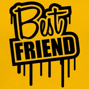 Best Friend Stempel Graffiti T-Shirts - Men's Premium T-Shirt