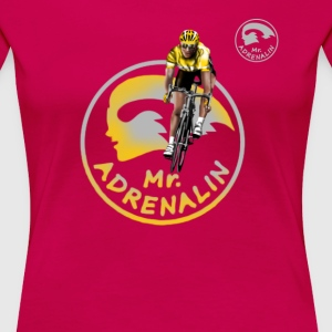 racing bicycle Mr. Adrenalin Camisetas - Camiseta premium mujer