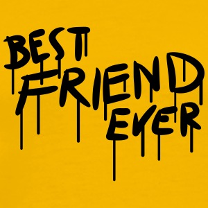Best Friend Ever Graffiti T-Shirts - Men's Premium T-Shirt