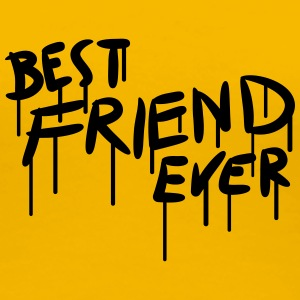 Best Friend Ever Graffiti T-Shirts - Frauen Premium T-Shirt