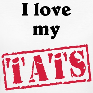 I love my tats T-Shirts - Frauen Bio-T-Shirt