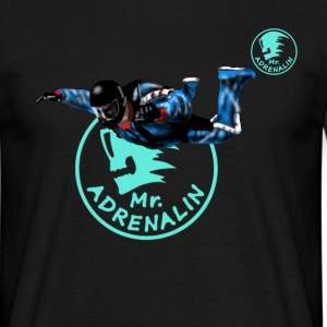 skydiver Mr. Adrenalin T-Shirts - Men's T-Shirt