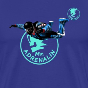 skydiver Mr. Adrenalin T-shirts - Premium-T-shirt herr
