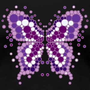 pop butterfly T-shirts - Vrouwen Premium T-shirt