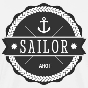 sailor matroos T-shirts - Mannen Premium T-shirt