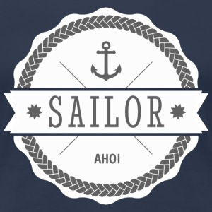 sailor matroos T-shirts - Vrouwen Premium T-shirt