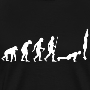 Evolution Burpee T-shirts - Herre premium T-shirt