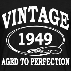 Vintage 1949 Aged To Perfection T-Shirts