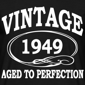 Vintage 1949 Aged To Perfection T-Shirts - Men's T-Shirt