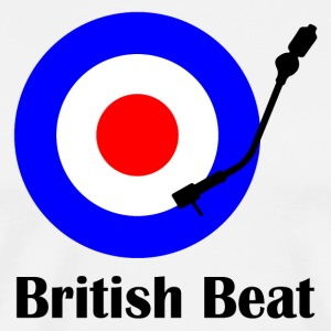 british beat T-Shirts - Men's Premium T-Shirt
