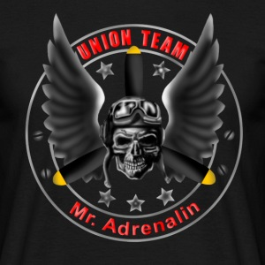 Union Team Mr. Adrenalin T-shirts - Mannen T-shirt