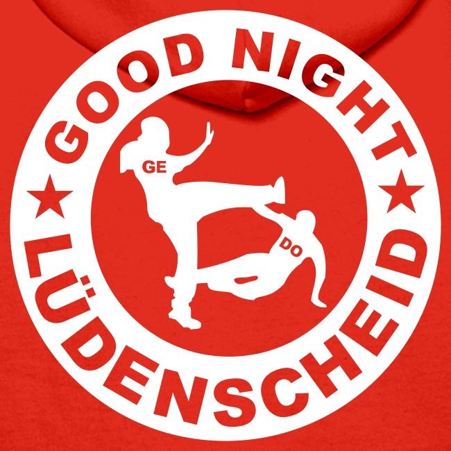 "Kapu ""Gelsenkirchen"" mit Rückendruck ""Good Night LÜD"""