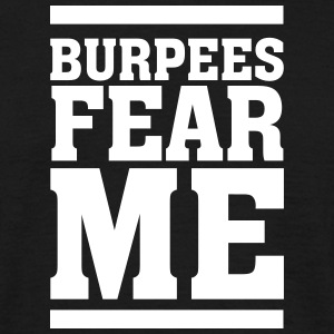 Burpees Fear Me T-shirts - Herre-T-shirt
