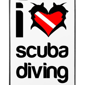 I Love Scuba Diving Phone Cover - iPhone 4/4s Hard Case