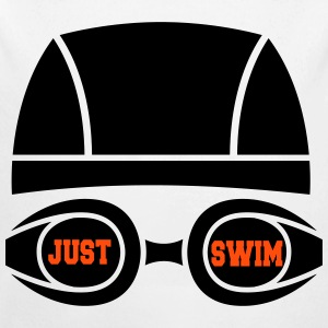 Just swim Hoodies - Longlseeve Baby Bodysuit