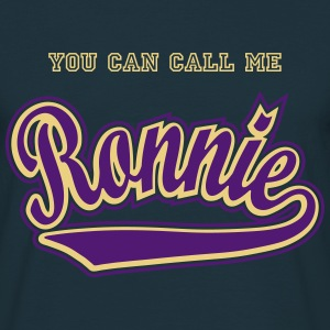 Ronnie - T-shirt personalised with your name T-Shirts - Men's T-Shirt