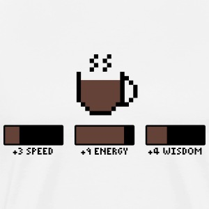 Coffee Gamer T-shirts - Premium-T-shirt herr