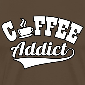 Coffee addict T-Shirts - Männer Premium T-Shirt