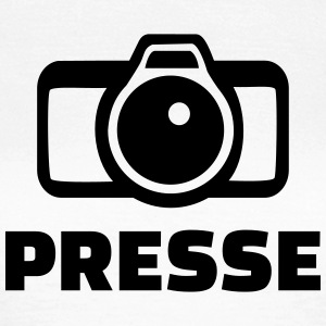 Presse T-Shirts - Frauen T-Shirt