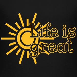 Life is great Shirts - Teenage Premium T-Shirt