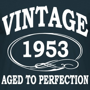 Vintage 1953 Aged To Perfection T-Shirts - Men's T-Shirt