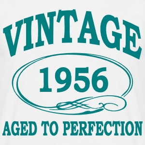 Vintage 1956 Aged To Perfection T-Shirts - Men's T-Shirt