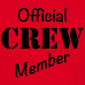 Official Crew Member T-shirts - Herre-T-shirt