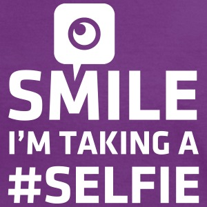 Love taking Selfie photo camera instagram smile T-Shirts - Women's Ringer T-Shirt