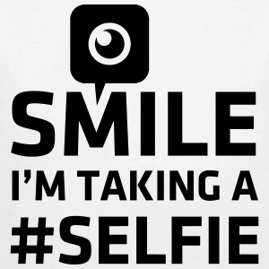 Love taking Selfie photo camera instagram smile Sweats - Body bébé bio manches longues