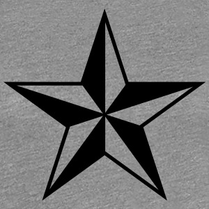 Nautical star protection guidance good luck symbol T-Shirts - Women's Premium T-Shirt