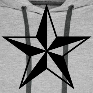 Nautical star protection guidance good luck symbol Hoodies & Sweatshirts - Men's Premium Hoodie