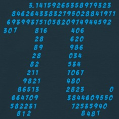 Math Pi science π mathematics irrational circle    T-Shirts