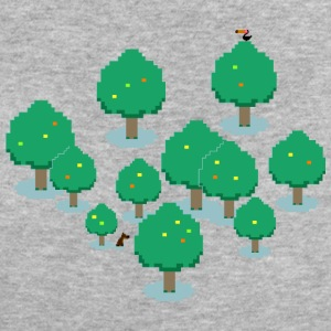 Pixel Forest T-Shirts - Frauen Bio-T-Shirt