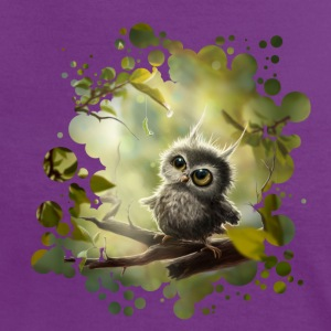 Little Owl T-Shirts - Women's Ringer T-Shirt