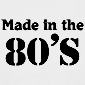 Made in the 80's T-Shirts - Men's Baseball T-Shirt