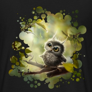 Lille Ugle (Little Owl) T-shirts - Herre-T-shirt