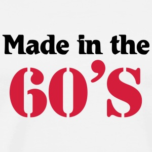 Made in the 60's T-shirts - Herre premium T-shirt