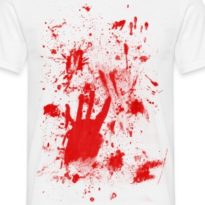 Splashes of blood / blood Smeared T-Shirts - Men's T-Shirt