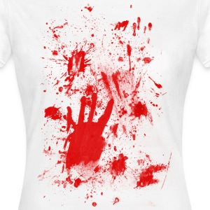 Splashes of blood / blood Smeared T-Shirts - Women's T-Shirt