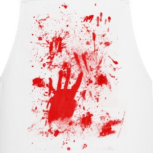 Splashes of blood / blood Smeared  Aprons - Cooking Apron