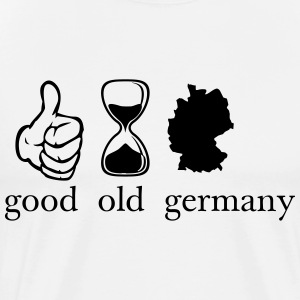 good old germany Deutschland T-shirts - Mannen Premium T-shirt