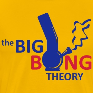 the big bong theory T-skjorter - Premium T-skjorte for menn
