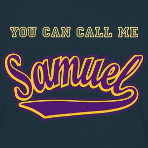 Samuel - T-shirt personalised with your name T-Shirts - Men's T-Shirt