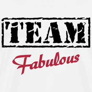 Team Fabulous T-shirts - Mannen Premium T-shirt