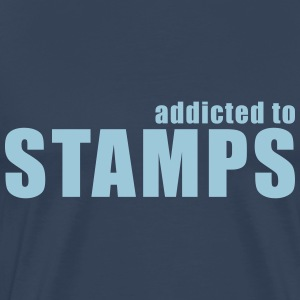 addicted to stamps T-Shirts - Männer Premium T-Shirt